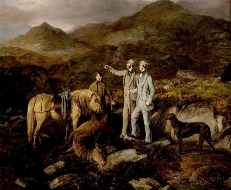 Stag Hunt in Scotland