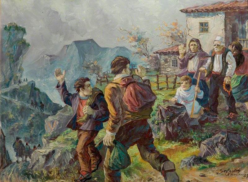 The Romanians Departing*