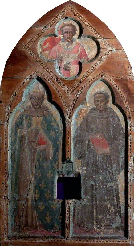 Saint Louis of Toulouse and Saint Anthony of Padua with Saint Stephen