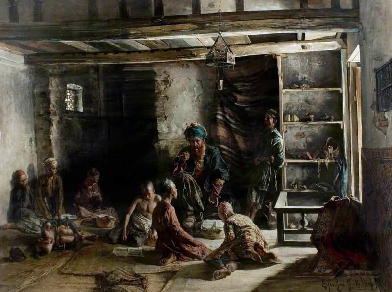 An Oriental School