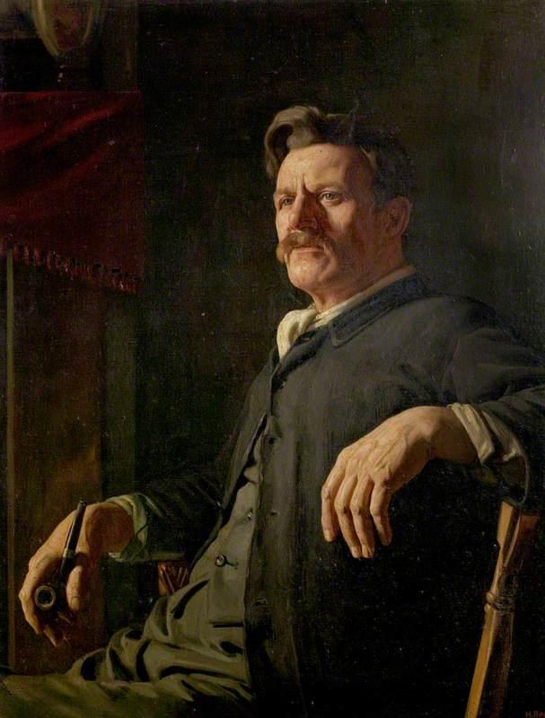 Portrait of the Artist's Father (A Quiet Hour)