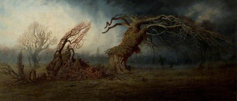 The Blasted Tree
