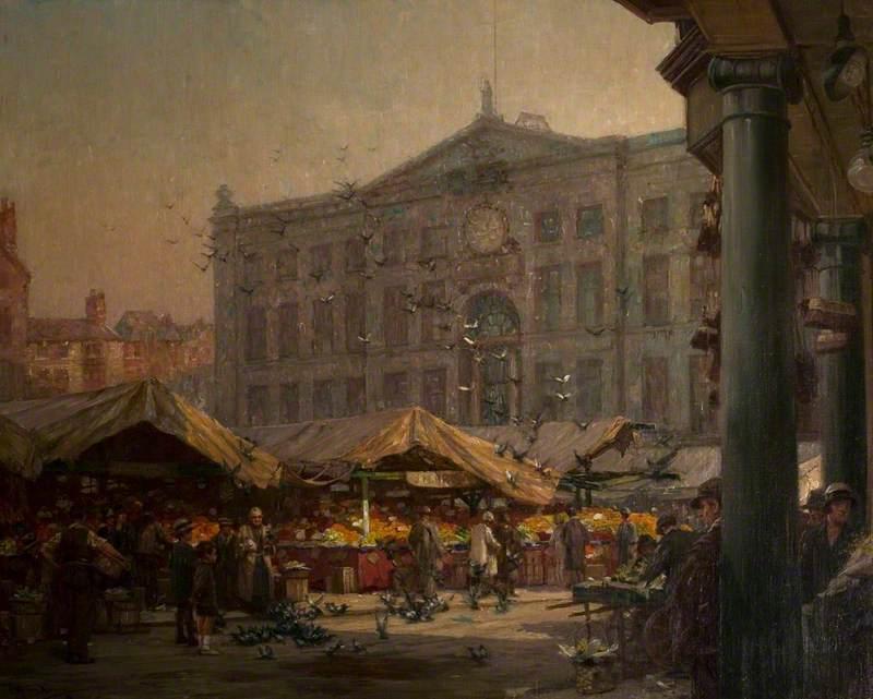 Nottingham Old Market Place
