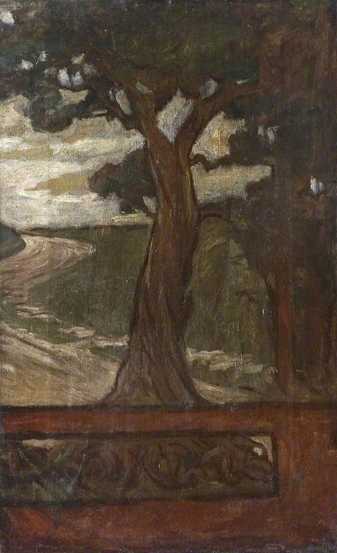 Tree, Idylls of the King (right panel)