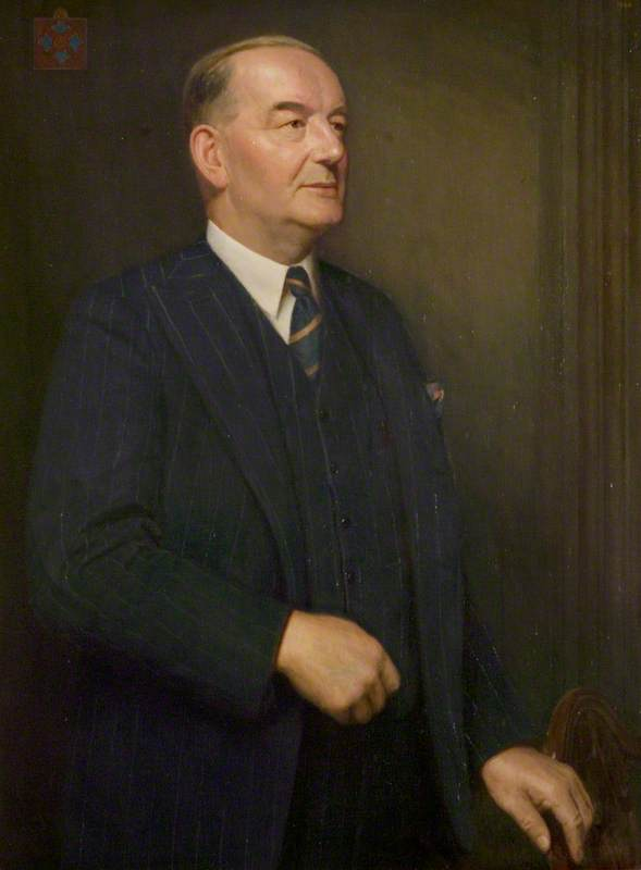 Alderman William Bayliss, CE, JP, Chairman of the County Council (1946–1962)