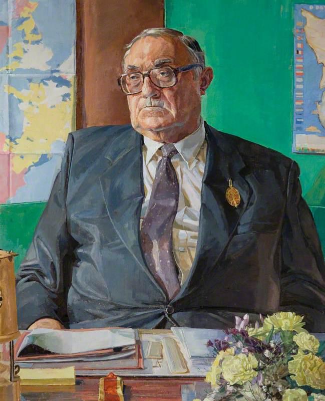 Councillor Dennis Pettitt, Leader of the County Council (1981–2001)