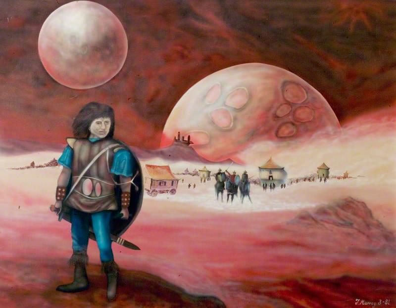 Man on Mars*