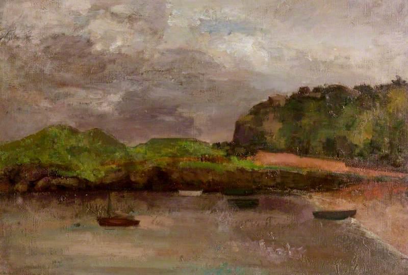 Rain Clouds, Beached Boats