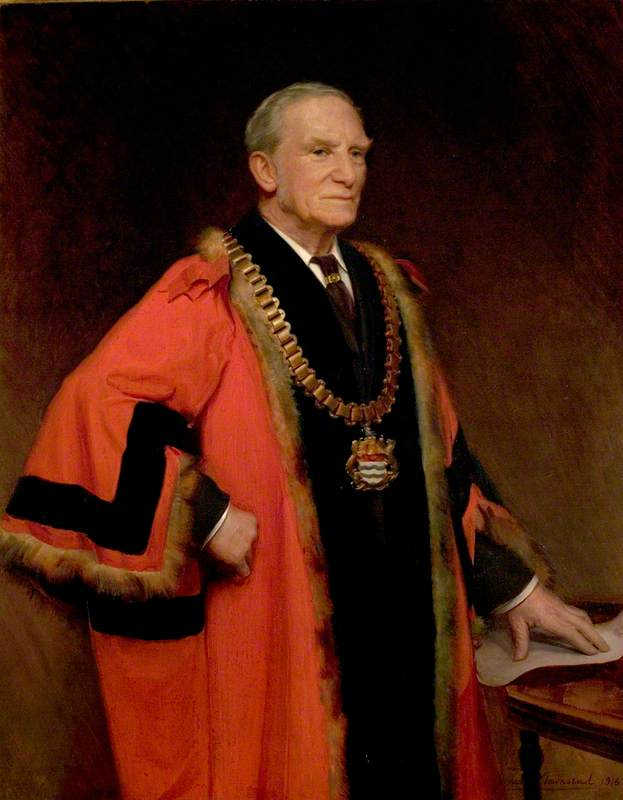 William Edward Knight (1845–1934), JP, Councillor (1883), Alderman (1904), and Mayor of Newark (1889 & 1915–1918)