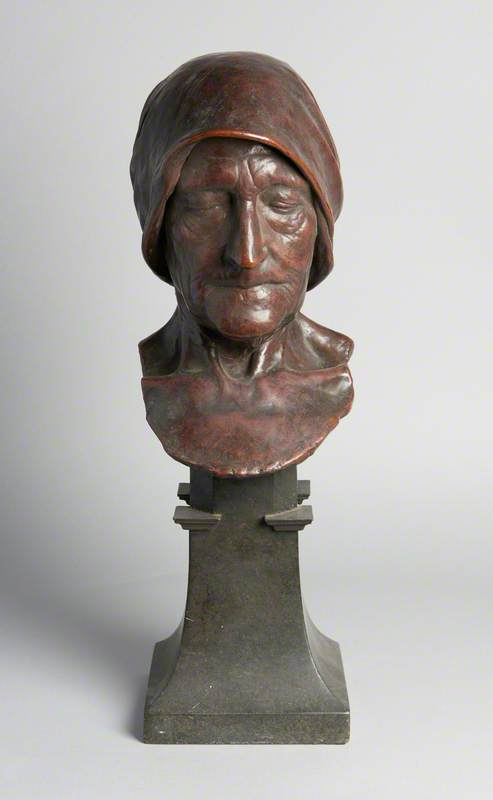 Head of an Old Peasant Woman