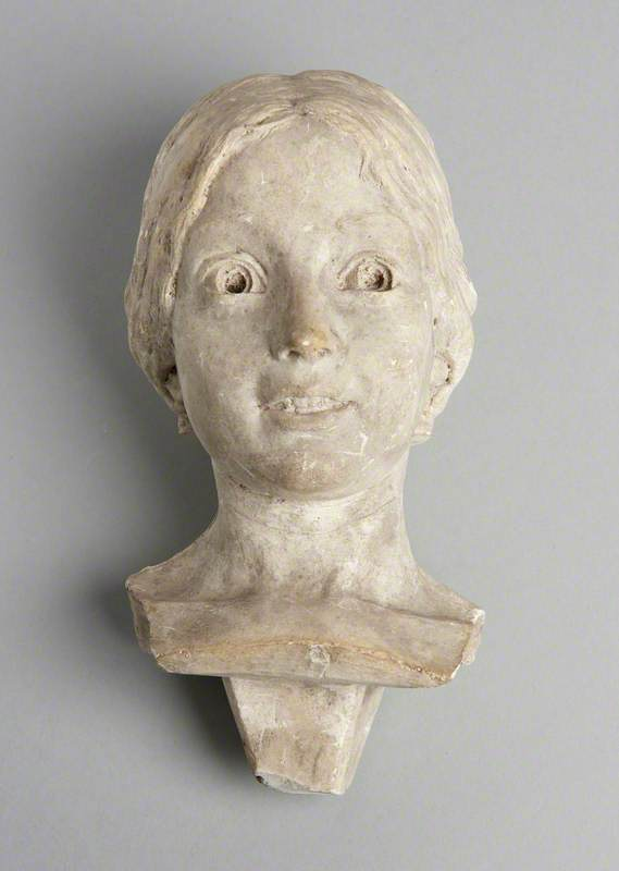 Head of a Smiling Girl