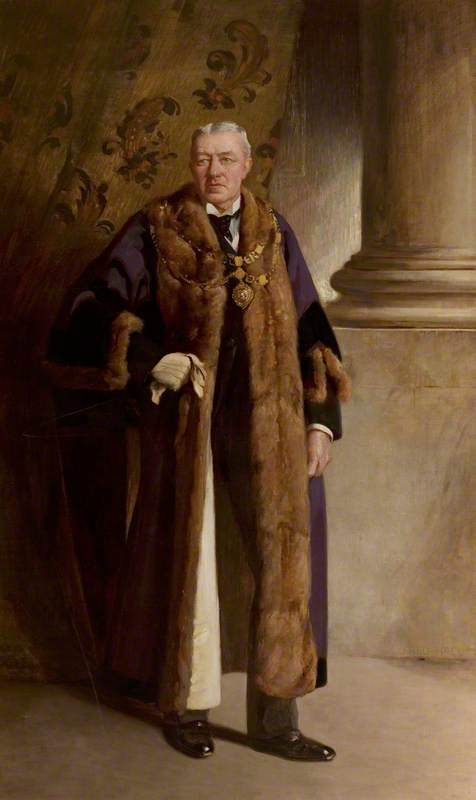 J. W. Holmes, Esq., Mayor of East Retford (1886, 1891 & 1901)