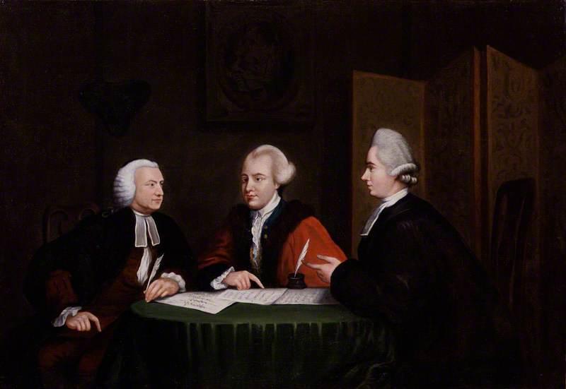 John Glynn, John Wilkes and John Horne Tooke