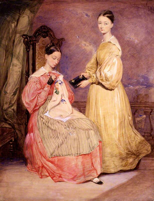 Florence Nightingale and Frances Parthenope, Lady Verney