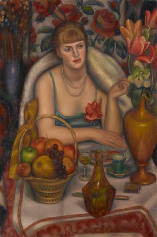 Natalie Bevan, née Ackenhausen, Later Denny ('Supper, Natalie Denny')
