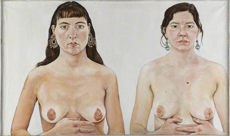 Ishbel Myerscough and Chantal Joffe ('Two Girls')