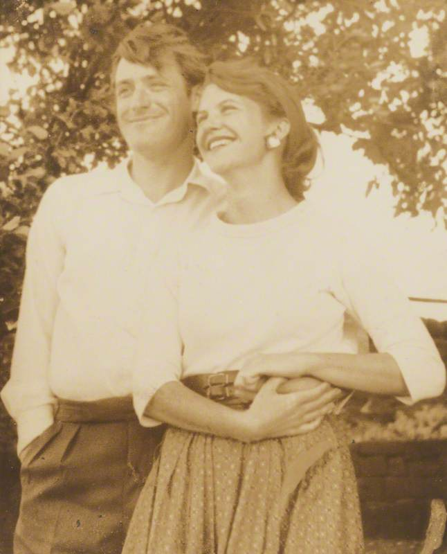 Ted Hughes (1930–1998) and Sylvia Plath (1932–1963)