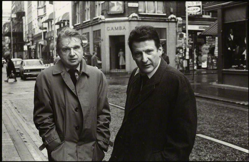Francis Bacon and Lucian Freud
