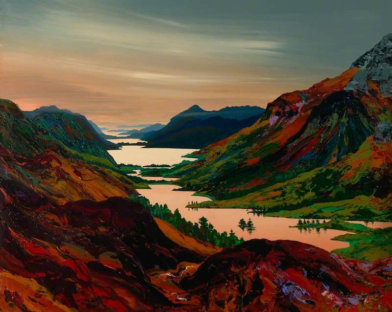 The Great Glen through Four Seasons