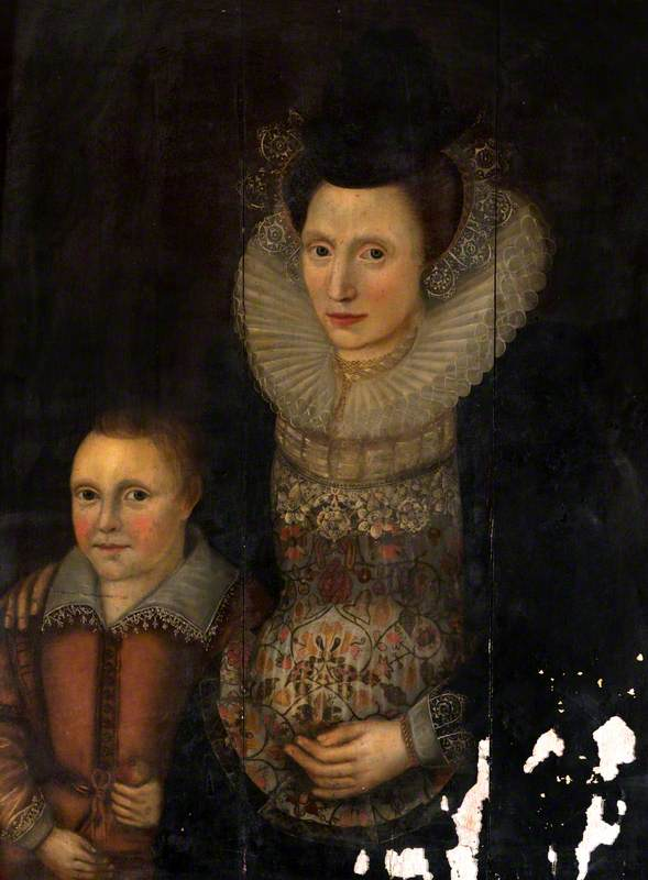 Portrait of an Unknown Lady with a Child