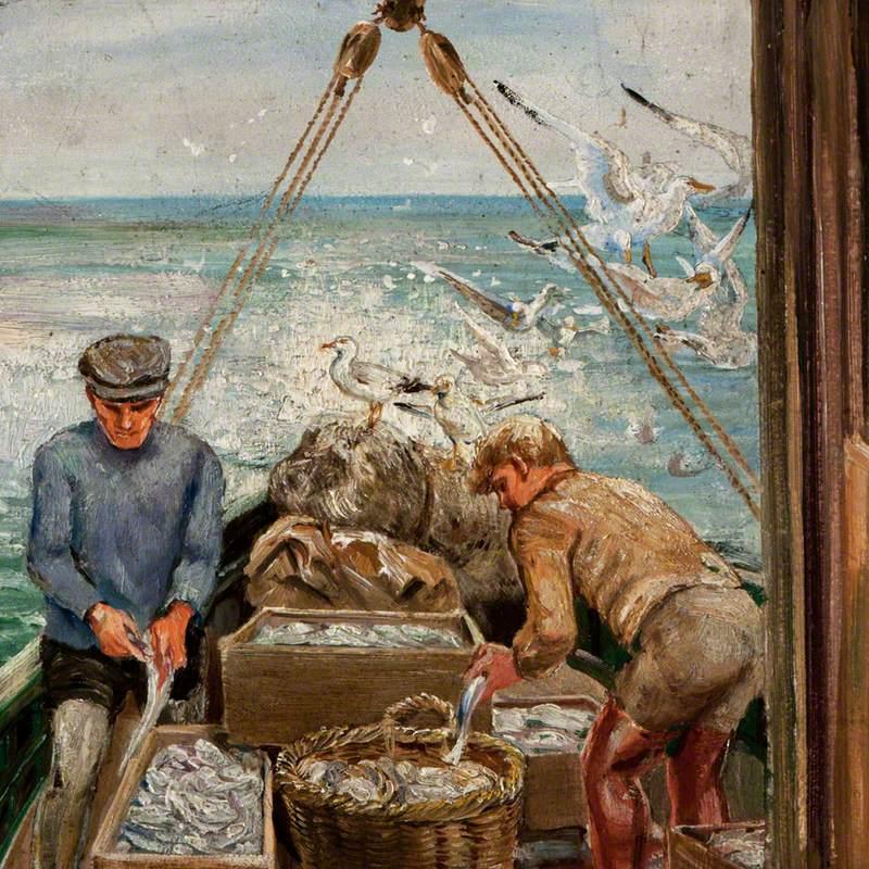 Fishing Boat Scene
