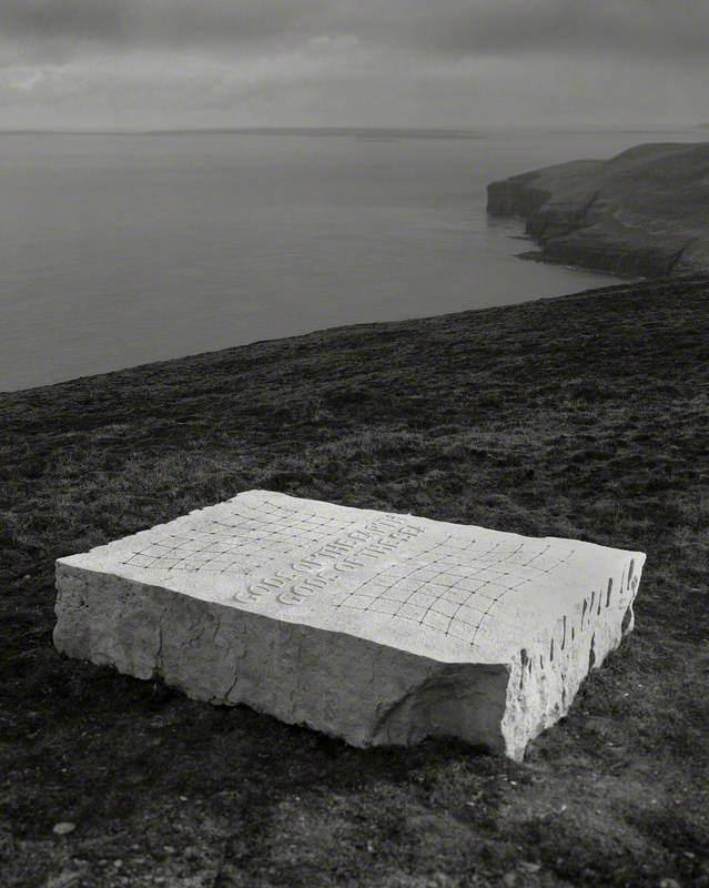 Gods of the Earth/Gods of the Sea – Ian Hamilton Finlay, Sited on Rousay in 2005