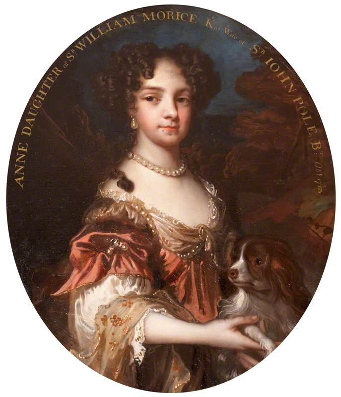 Anne Morice (d.1713/1714), Lady Pole