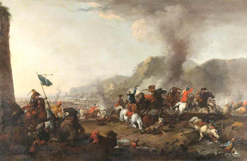 The Battle of Belgrade, 16–17 August 1717
