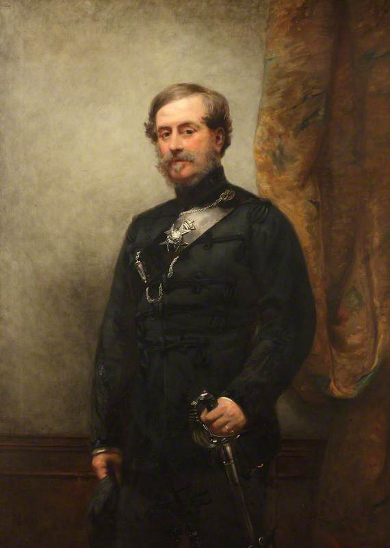 Colonel Robert Myddleton Biddulph (1805–1872), MP