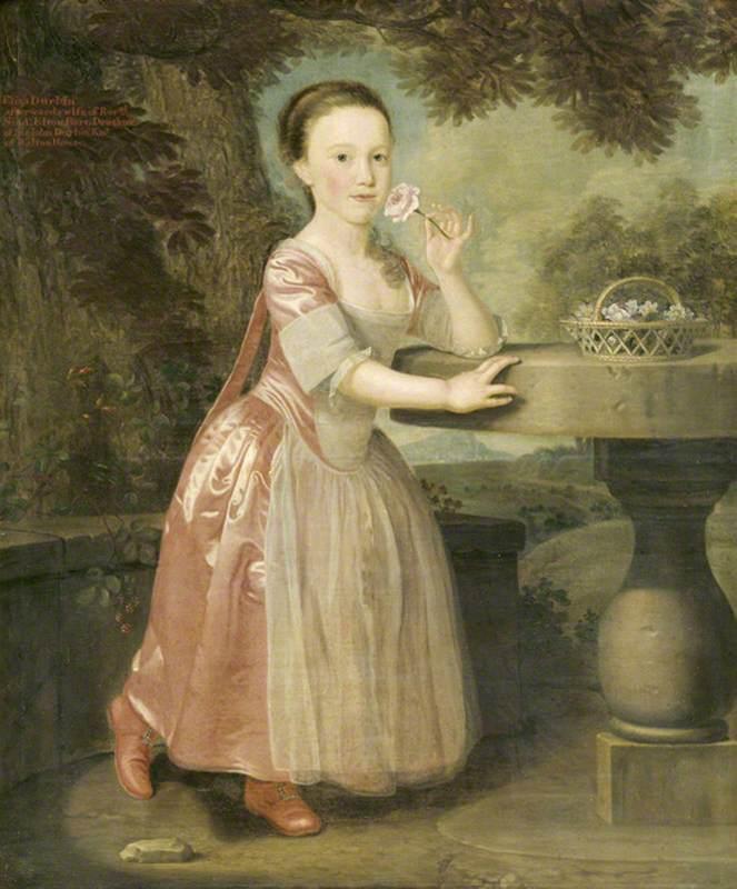 Eliza Durbin (1756–1822), Lady Elton, as a Child
