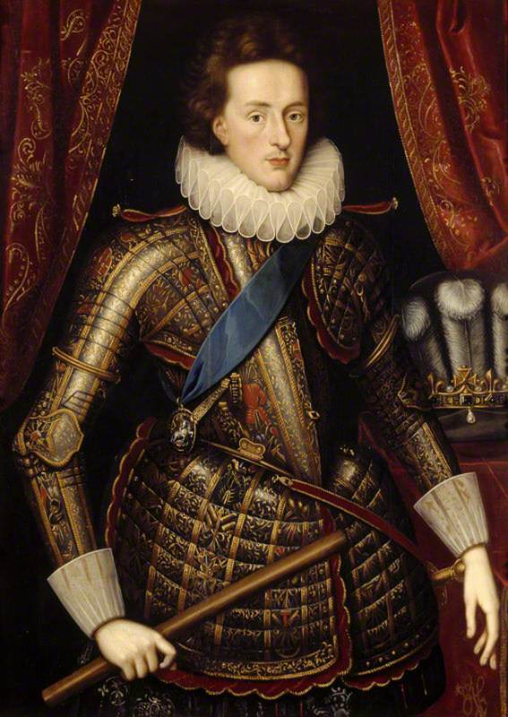 Prince Henry Frederick (1594–1612), Prince of Wales