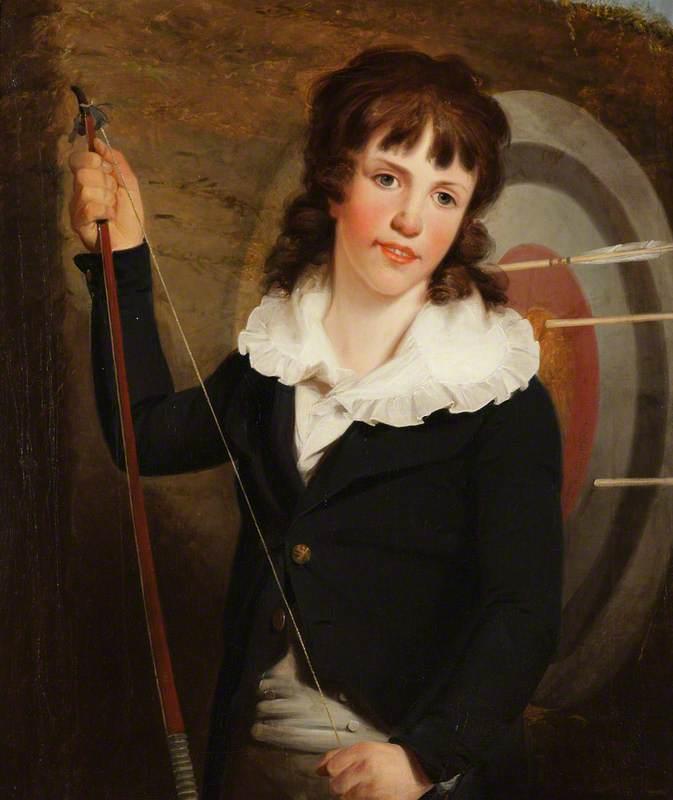 Piers Wynne Yorke (1789–1837), as a Boy