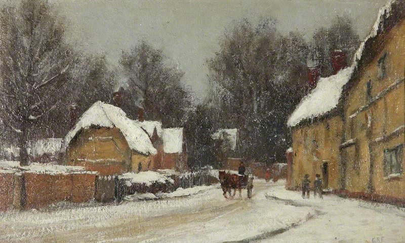 Chilton Foliat, Berkshire, in the Snow