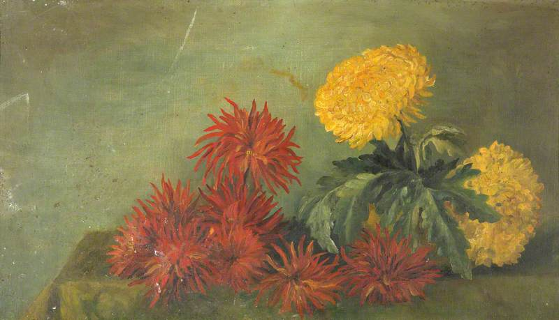 Still Life, Chrysanthemums