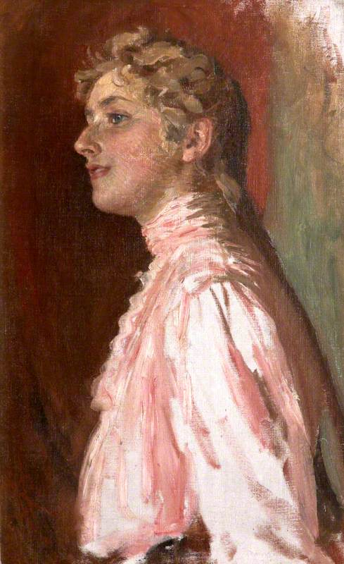 Agatha Miller (1890–1976), Later Agatha Christie, as a Young Woman in Pink