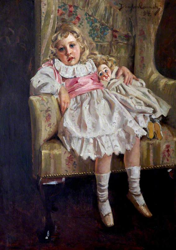 Agatha Mary Clarissa Miller (1890–1976), Later Agatha Christie, Aged 4, 'Lost in Reverie'