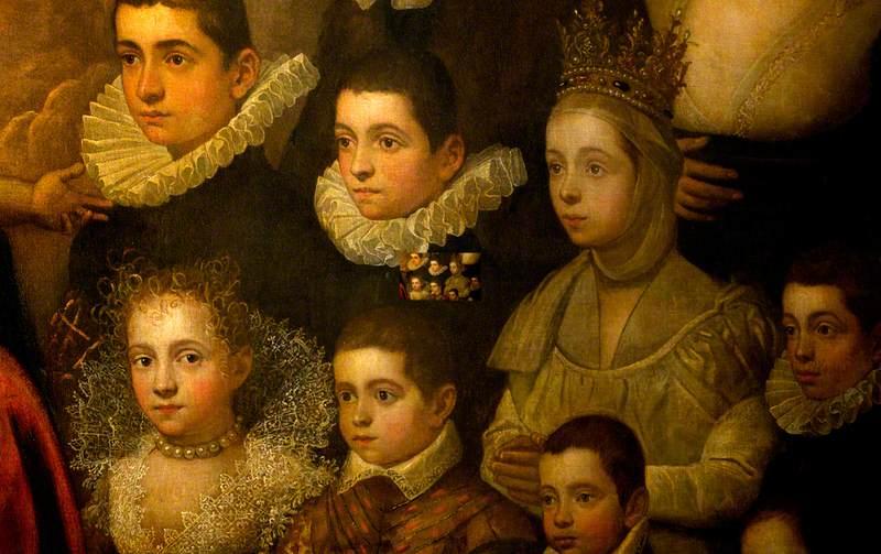The Comiciro/Comero Family Adoring the Madonna and Child
