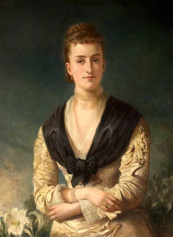 Florence Mary Ann Fane, Mrs Albert Bankes
