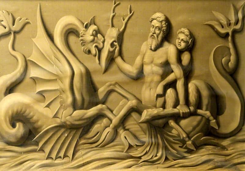 Dado of Mermen, Putti, Seahorses and Sea-Monsters