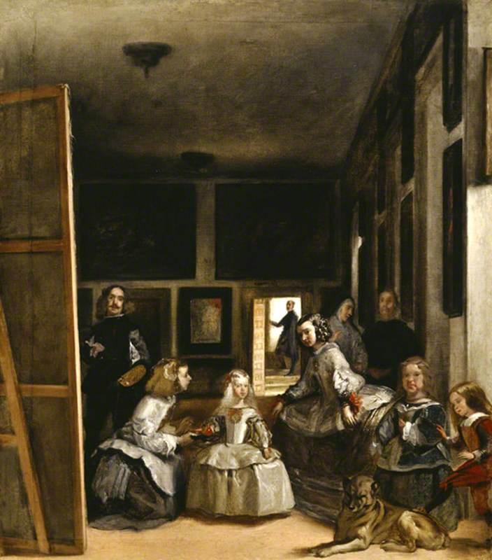 The Household of Philip IV, 'Las Meninas'