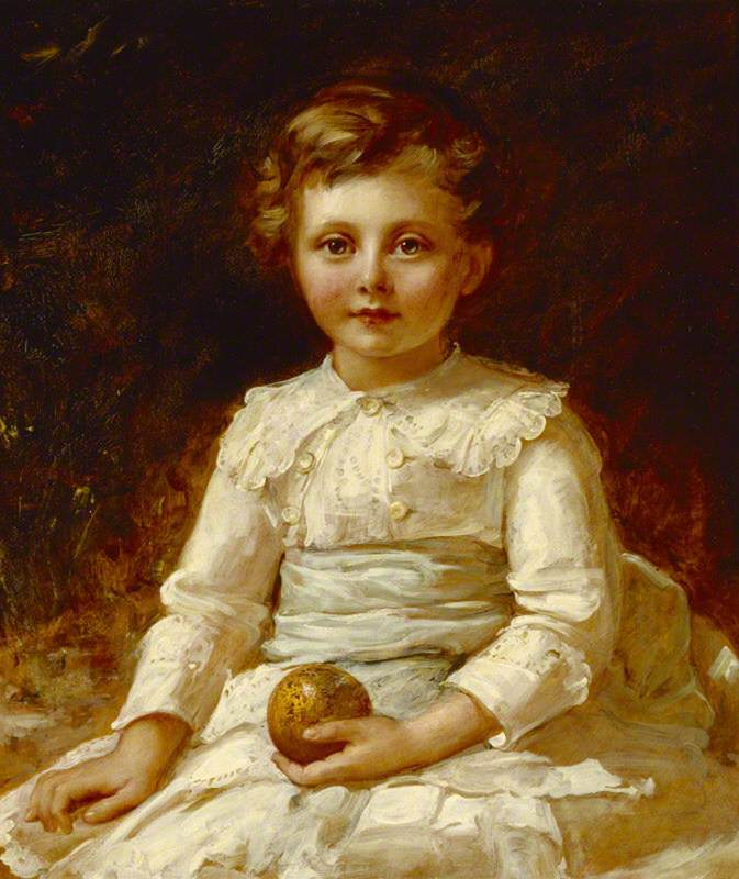 The Honourable Francis Gerald Agar-Robartes (1883–1966), 7th Viscount Clifden as a Child