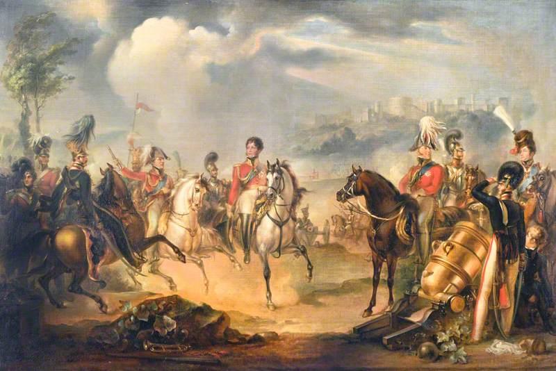 George IV and the Duke of Wellington