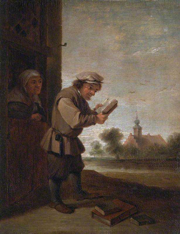 A Peasant Reading: 'The Sense of Sight'