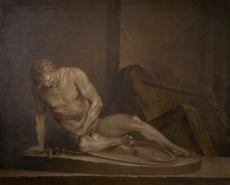 The Dying Gaul in an Interior
