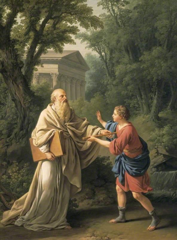 Telemachus and Thermosiris