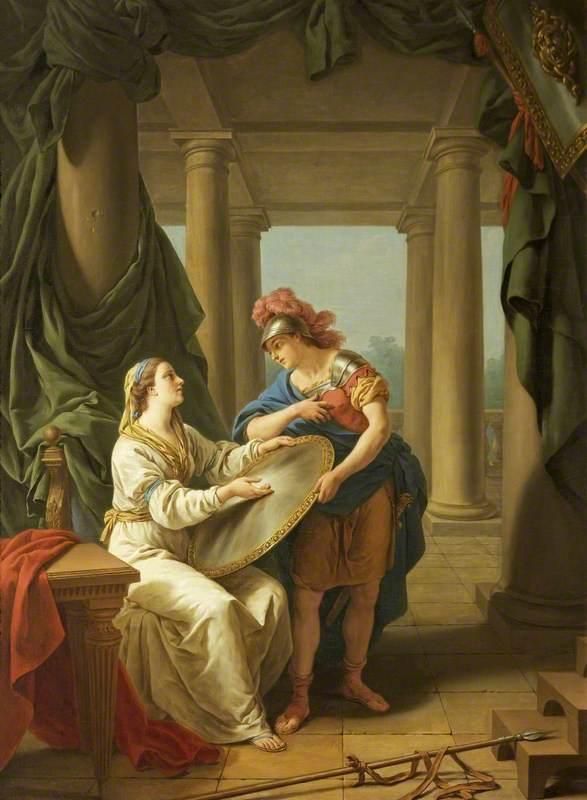 'La lacédémonienne' (The Spartan Mother)