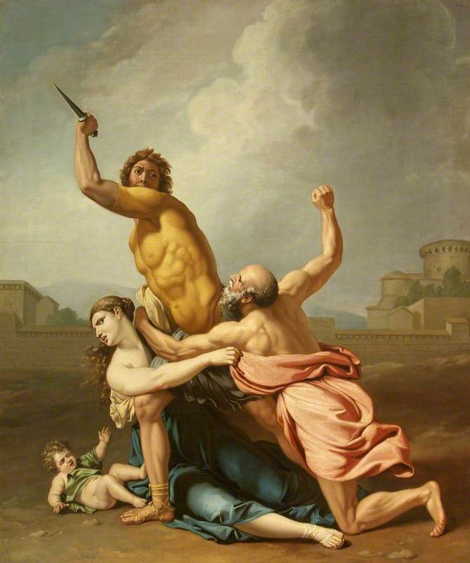 A Group from the Rape of the Sabines