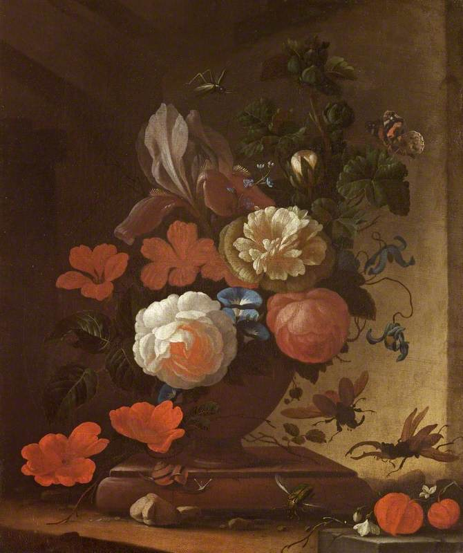 Still Life with Fruits, Flowers and Insects