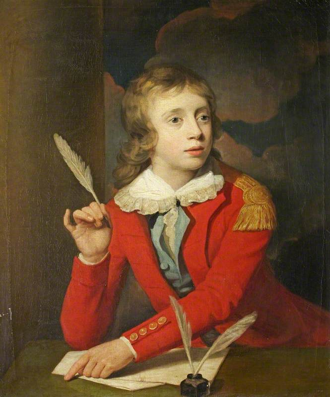 Henry Hoare (1784–1836), Son of Sir Richard Colt Hoare, as a Boy, Writing a Letter