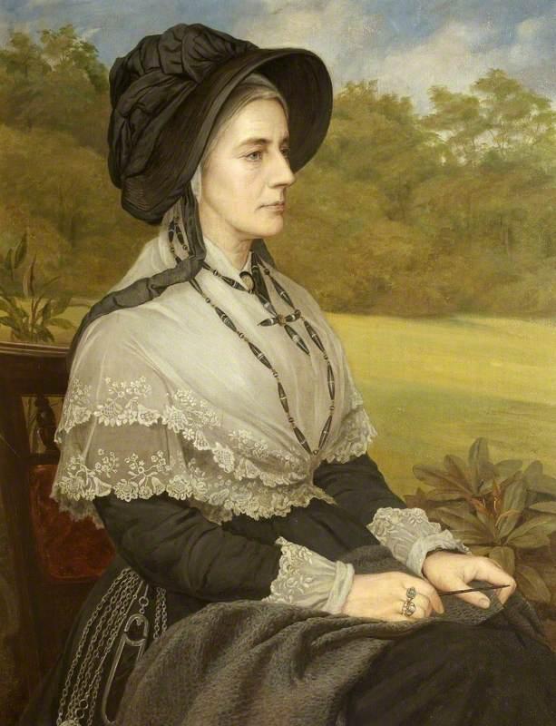 Matilda Blanche Crawley-Boevey (1817–1888), Mrs William Gibbs